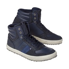 Costa - Sneakers in pelle - blu scuro