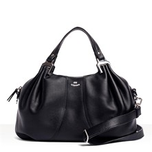 Alice - Borsa in pelle - nero