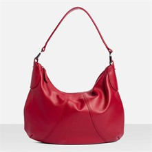 Alice - Borsa hobo in pelle - bordeaux