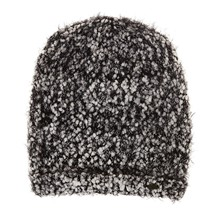 Gorro de punto pop corn - bicolor