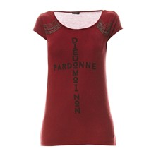T-shirt - bordeaux