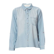 Case - Camisa - denim azul
