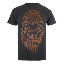 Chewbacca Text - T-Shirt - schwarz