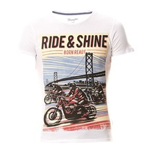 Ride & Shine - Camiseta - blanco