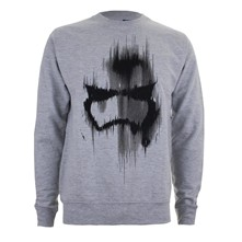 Trooper Mask - Sweatshirt - grau
