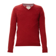 Knit - Pullover - rot