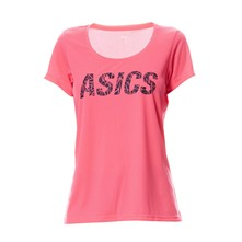 W'S GRAPHIC SS TEE - Top - rosa