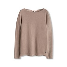 Boaty Neck - T-shirt - taupe