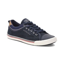 Britt - Sneakers in pelle - blu scuro