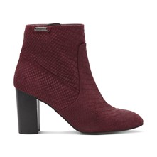 Dylan - Bottines en cuir - bordeaux