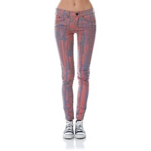 Marble - Jeans Slim - rosso