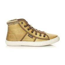 Bota piel - High Sneakers - senfgelb