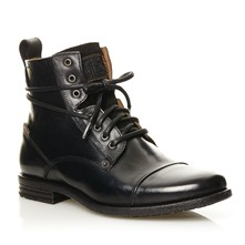 Emerson Lace Up - Stivaletti in pelle - nero