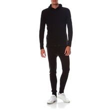 Ensemble sweat et jogging - noir