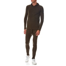 Ensemble sweat et jogging - kaki