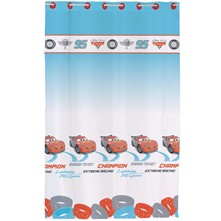 Cars Ice Racer - Cortinas - azul