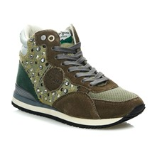 Gable Bottie Stitching - Sneakers alte - verde