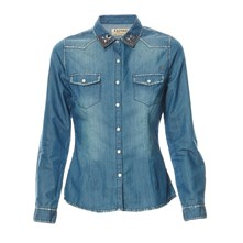 Toy - Camisa - denim azul
