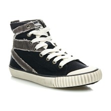 Industry Flag Stitch - Sneakers alte - nero