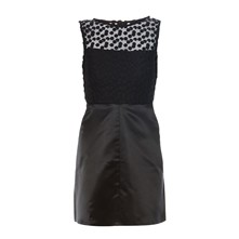Kleid in Babydoll-Optik - schwarz