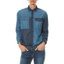 JERRY - Camisa - denim azul