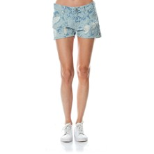 Sumi - Mini short en jean - denim bleu