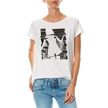 Fancy - T-shirt en coton - blanc