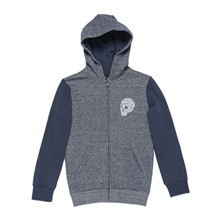 Head Skull Hz Fleece - Sudadera con capucha - azul