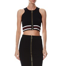 Crop Top - zwart