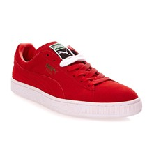 Suede Classic - Suède gympen - rood
