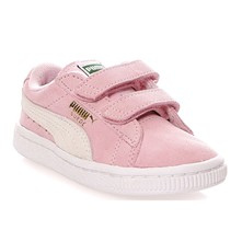 Suede - Sneakers aus Chamoisleder - rosa