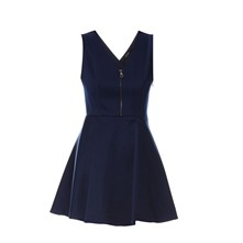 Agafia - Kleid in Babydoll-Optik - blau