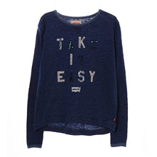 Easy - T-Shirt - jeansblau