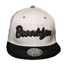 MH BROOKLYN - Gorra - blanco
