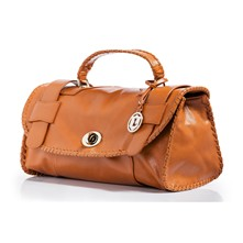 Borsa in pelle - marrone scuro
