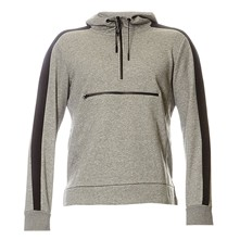 Text Hom - Hoody - grau