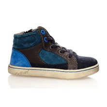 Lynx - Sneakers in pelle - blu scuro