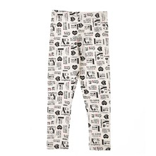 Legging estampado - blanco