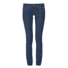 Ariel - Jean droit slim - denim bleu