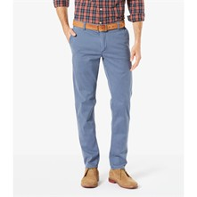 Bic washed slim tapered stretch - Pantaloni chino - blu scuro