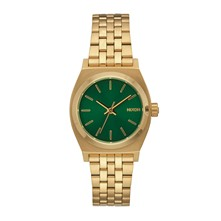Small time teller - Montre casual - Or / Vert Emeraude