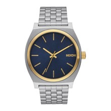 Time Teller - Montre casual - Argent / Saphir / Or