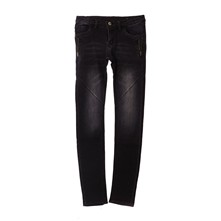 Jeans slim - antraciet