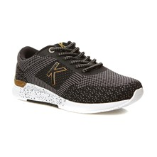 KNITWEAR NOIR OR - Sneakers - nero