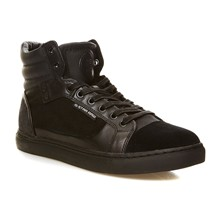 NEW AUGUR - High Sneakers - schwarz