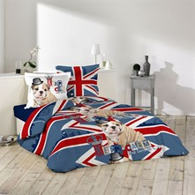 Keep calm dog - Conjunto de cama - estampado