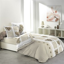 White love - Conjunto de cama - estampado