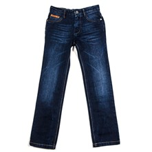 After - Jean recto - denim azul