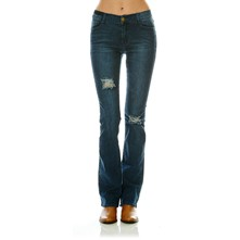 Garnel - Jeans bootcut - washed blauw