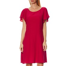 Maggy - Robe patineuse - rouge